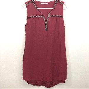 Anthropologie Daniel Rainn Peasant Tunic Dress